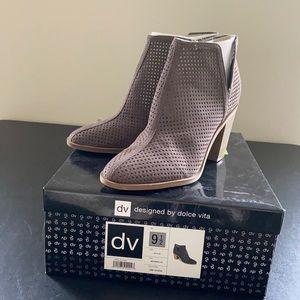 Dolce Vita Faux Suede Booties